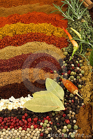 Free Spices And Herbs Stock Image - 3602511