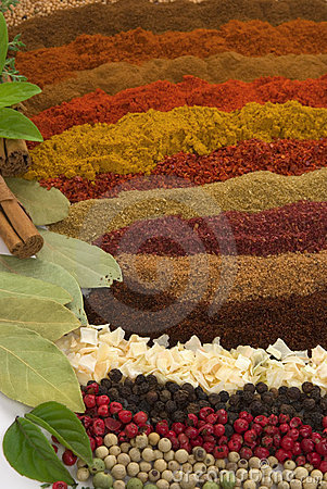 Free Spices And Herbs Stock Photos - 4381113