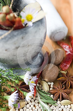 Spices and aromatic herbs