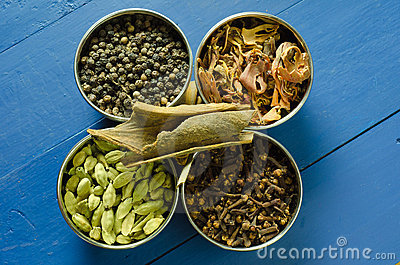 Spices arrangement