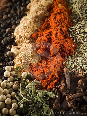 Free Spices Background Royalty Free Stock Photos - 8947718