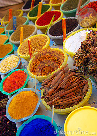 Spices and dyes
