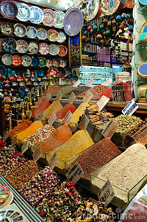 Spices on Grand Bazaar