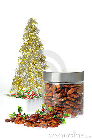 Spicy Candied Almonds