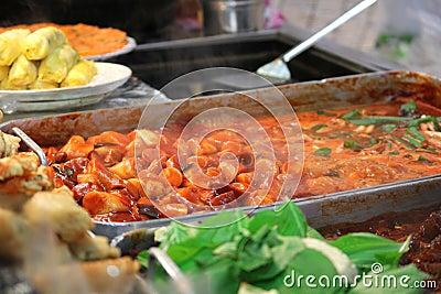Spicy Ddeokbokki