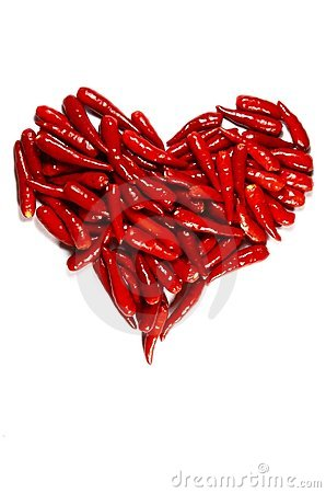 Free Spicy Hart Stock Photography - 12019552
