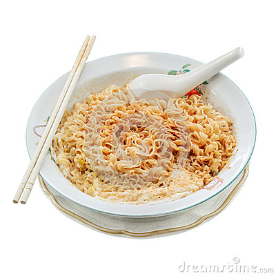 Free Spicy Noodles Royalty Free Stock Photo - 43108335