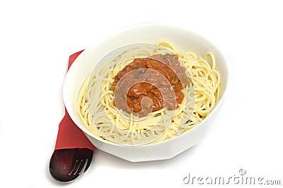 Spicy spaghetti recipe