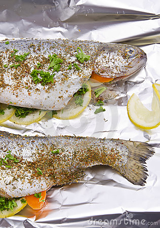 Spicy trout