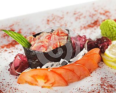 Spicy Tuna Gunkan Sushi