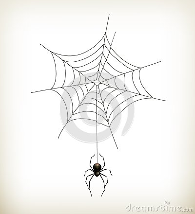 Free Spider And Web Royalty Free Stock Images - 26886389
