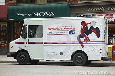 Spider-Man and the US Postal Service