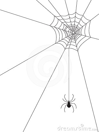 Displaying (18) Gallery Images For Corner Spider Web Clipart...