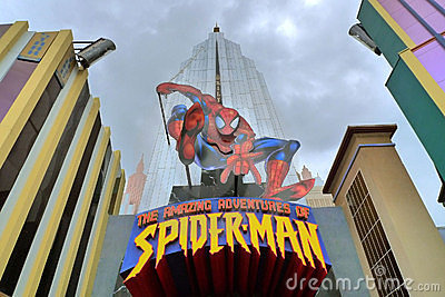 Spiderman Editorial Photography