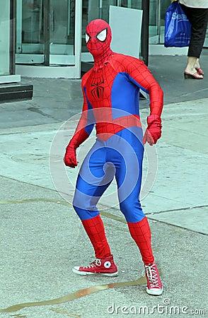 Spiderman Editorial Photo