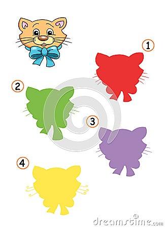Spiel 20, der Farbton der Katze