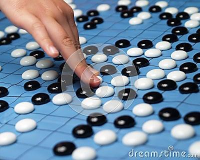 Spielen eines gehenspiels #2