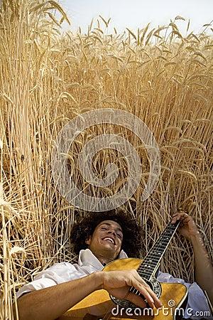 Spielen von guitar05