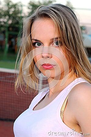 Spielen von Tennis