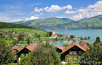 spiez,lake thun
