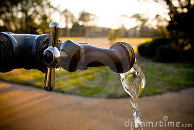Spigot Flowing