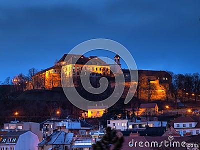 Spilberk castle in Brno, Czech republic