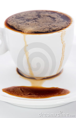 Free Spilled Coffee Stock Images - 8816854