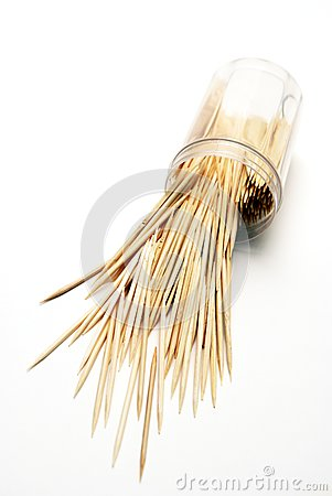 Spilled Toothpicks