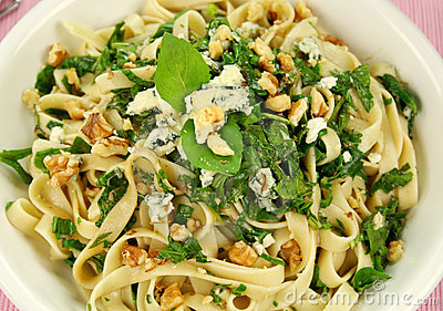 Spinach Fettucini