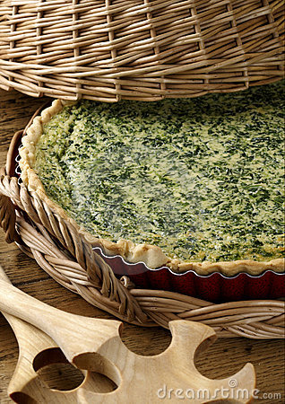 Free Spinach Pie Royalty Free Stock Photo - 19715135