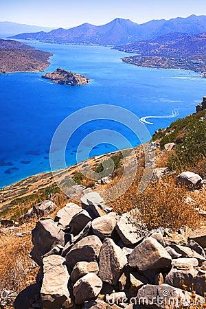 Free Spinalonga. Mirabello Bay. Royalty Free Stock Photography - 15068647