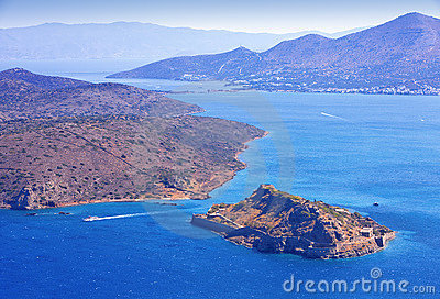 Spinalonga. Mirabello Bay.