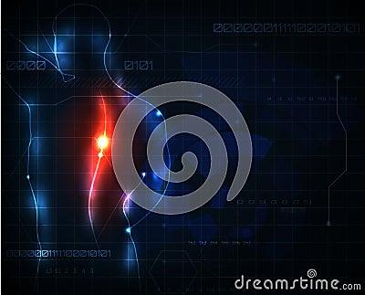 Spine ache
