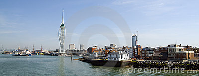 Spinnaker Tower and Old Portsmouth
