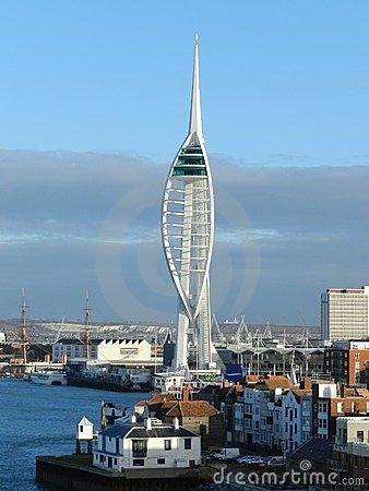 Spinnaker Tower Portsmouth England Editorial Stock Image