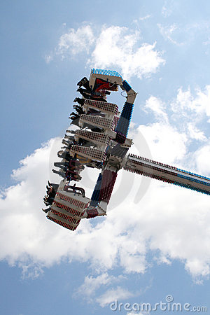 Spinner at funfair