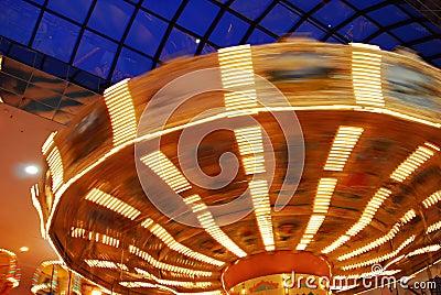 Spinner in funfair