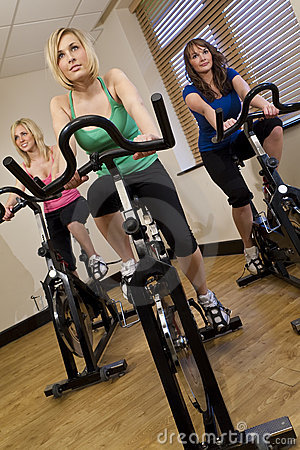 Free Spinning Class Royalty Free Stock Image - 8143076