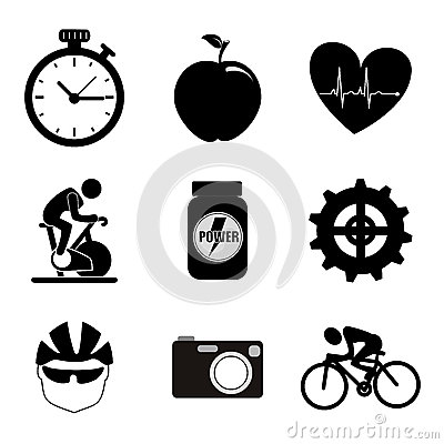 Free Spinning Icons Royalty Free Stock Image - 32734196