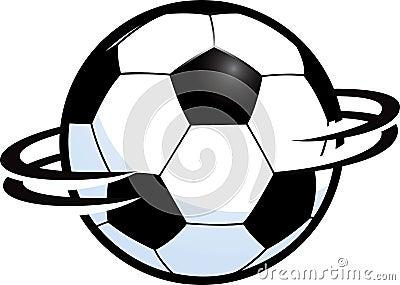 Spinning Soccer Ball