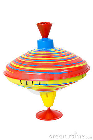 Spinning Top Stock Photo - Image: 12760010
