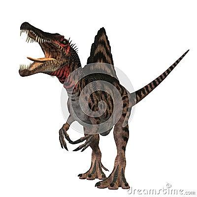 Free Spinosaurus 01 Royalty Free Stock Images - 21281579