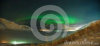 Spiral of Aurora polaris