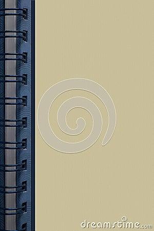 Spiral book background