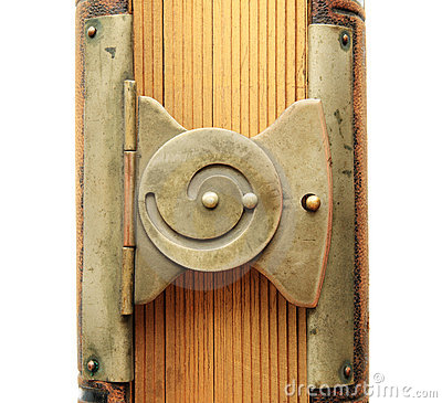 Free Spiral Book Clasp Stock Image - 7659641