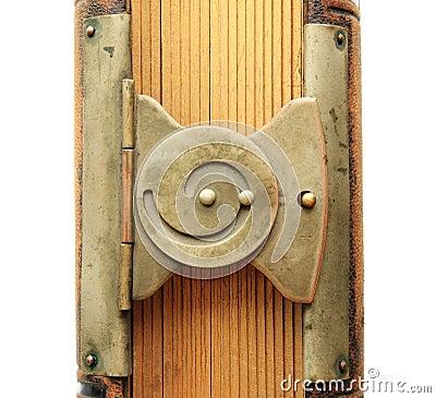 Spiral book clasp