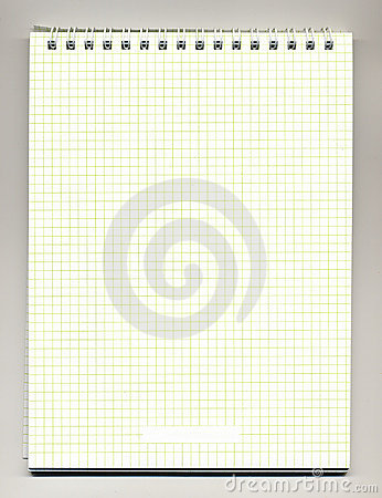 Spiral bound note pad
