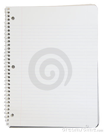 Free Spiral Bound Notebook With Cli Stock Photos - 2562103