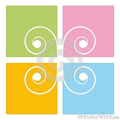 Spiral decoration