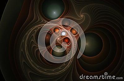 Spiral fractal 6